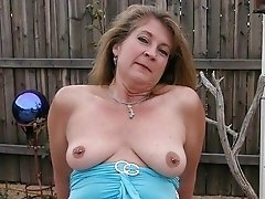 Beautiful amateur pierced pussy mature babe