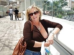 Big titted mature amateur whore