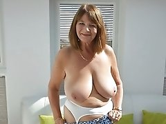 Mature babe with big tits