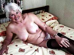 Granny alone and ready for use