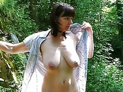 Young Mommy Showing Big Tits