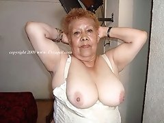 Saggy tits and wrinkles granny buts